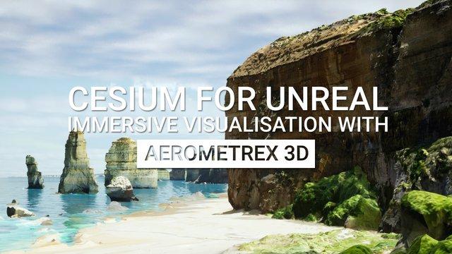 Immersive Visualization with Aerometrex 3D