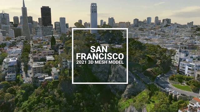 San Francisco 3D Model
